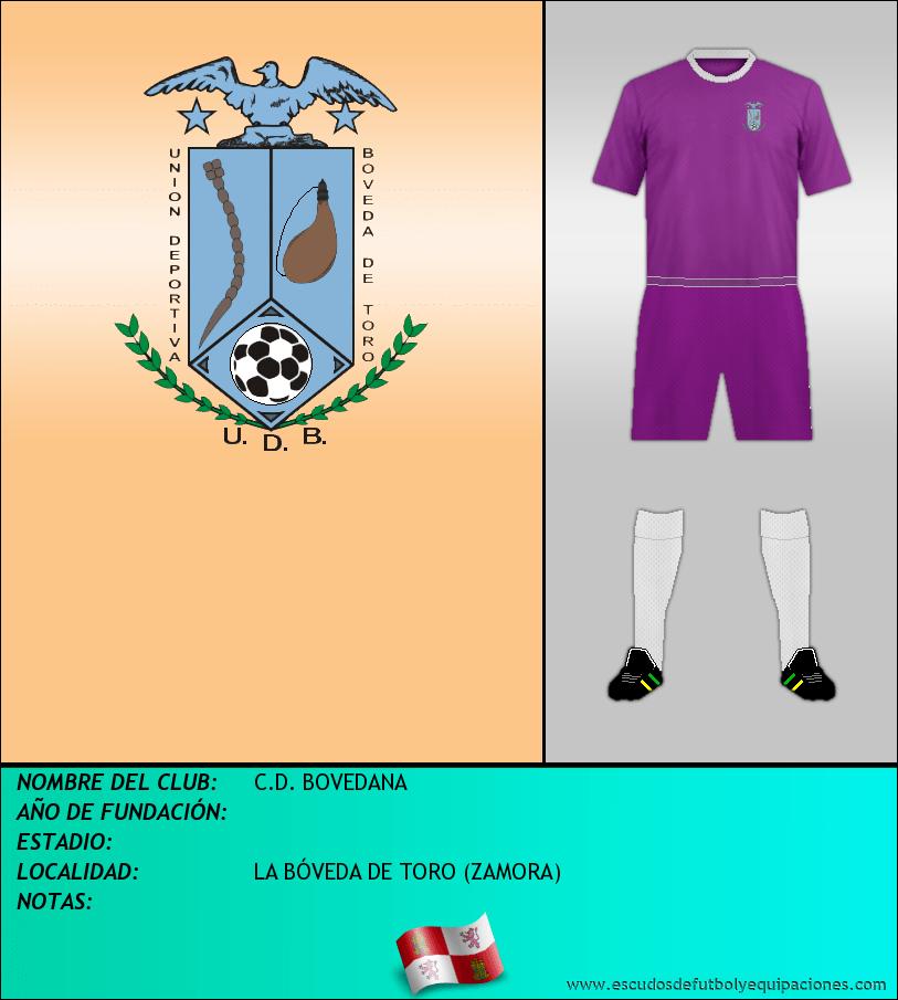 Escudo de C.D. BOVEDANA