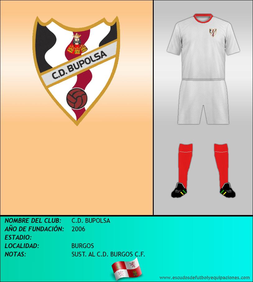 Escudo de C.D. BUPOLSA