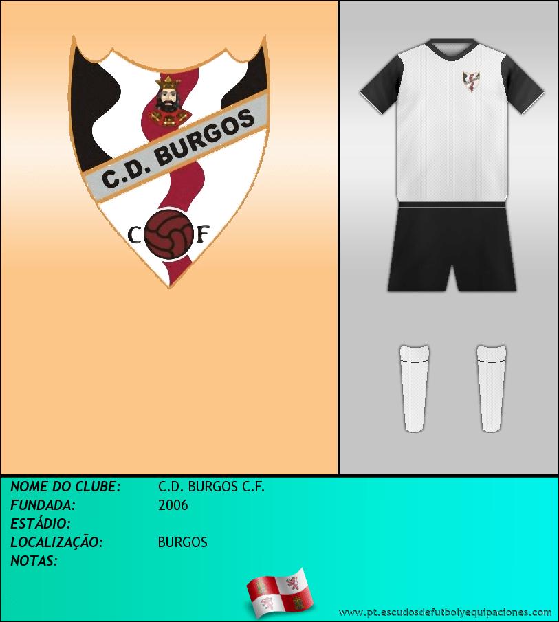 Escudo de C.D. BURGOS C.F.