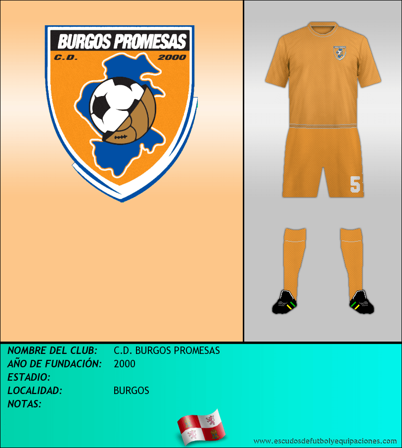 Escudo de C.D. BURGOS PROMESAS