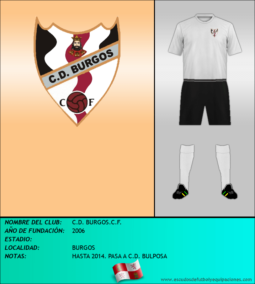 Escudo de C.D. BURGOS.C.F.