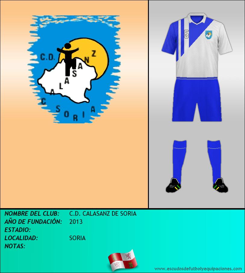 Escudo de C.D. CALASANZ DE SORIA