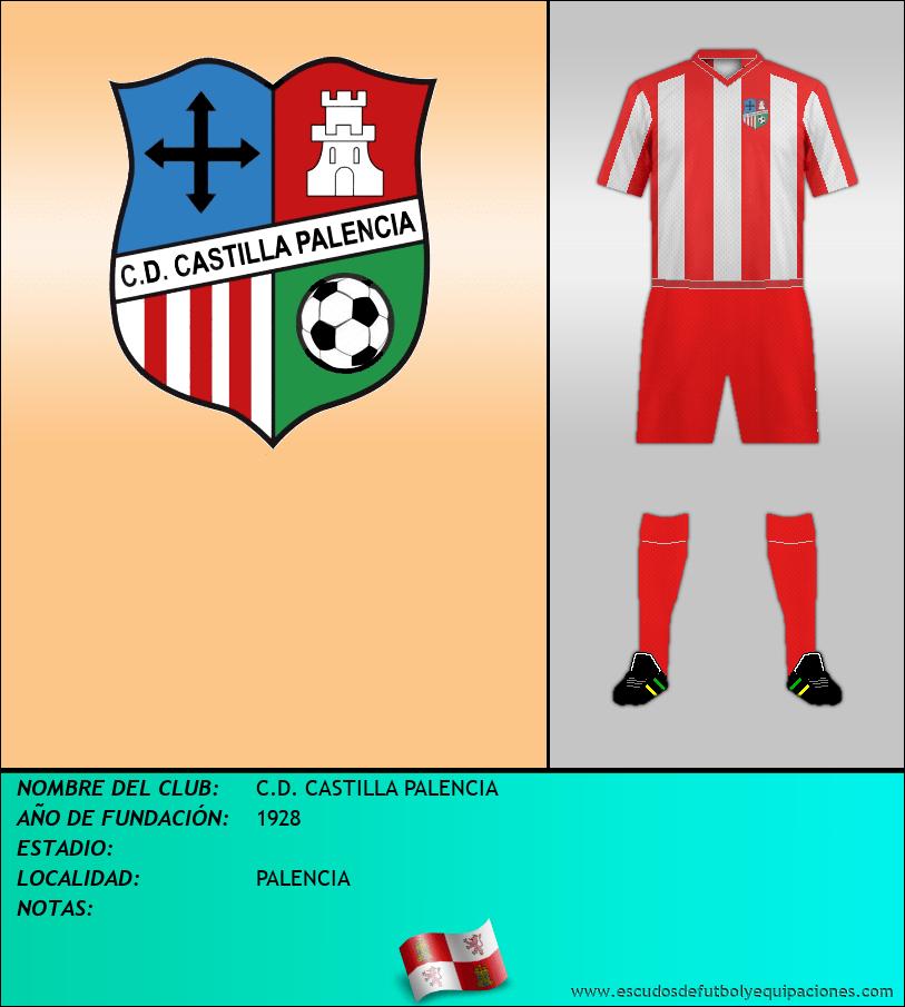 Escudo de C.D. CASTILLA PALENCIA