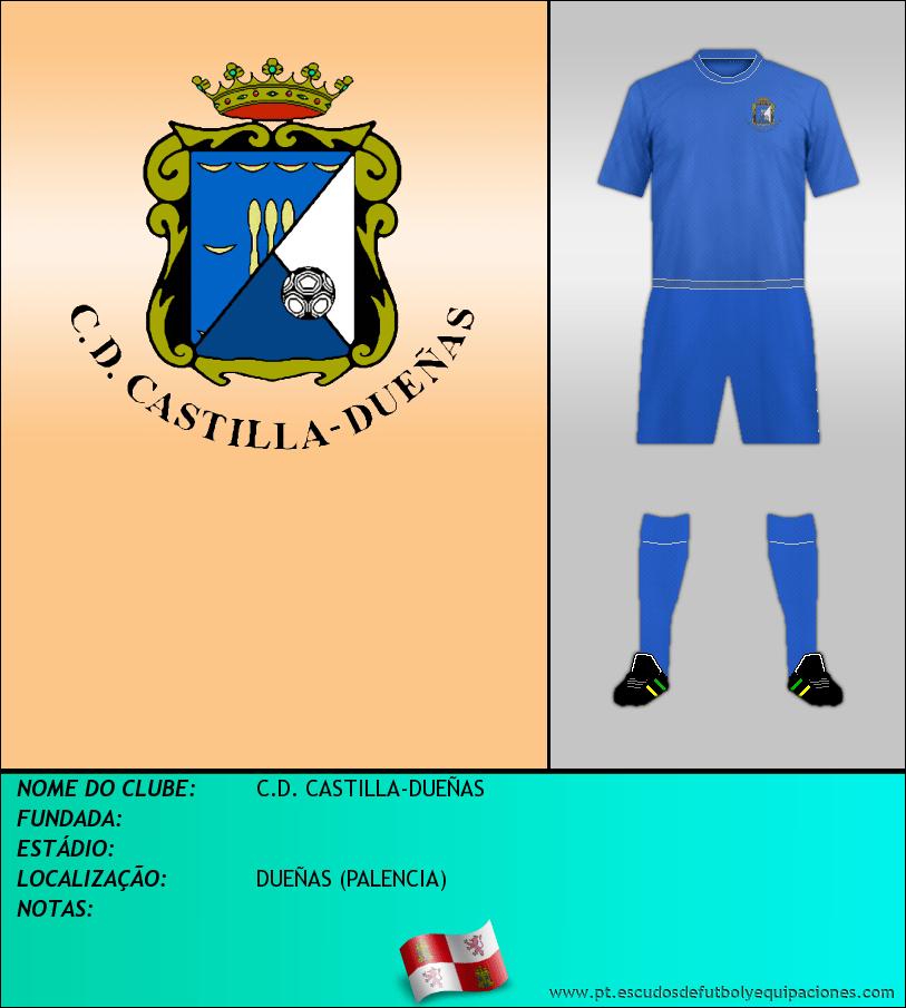Escudo de C.D. CASTILLA-DUEÑAS