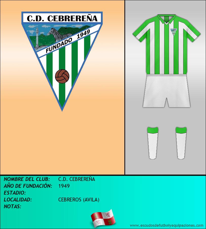Escudo de C.D. CEBREREÑA