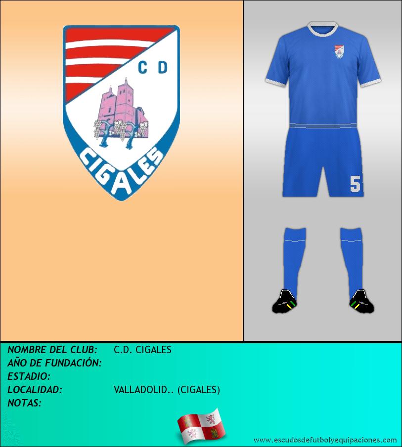 Escudo de C.D. CIGALES