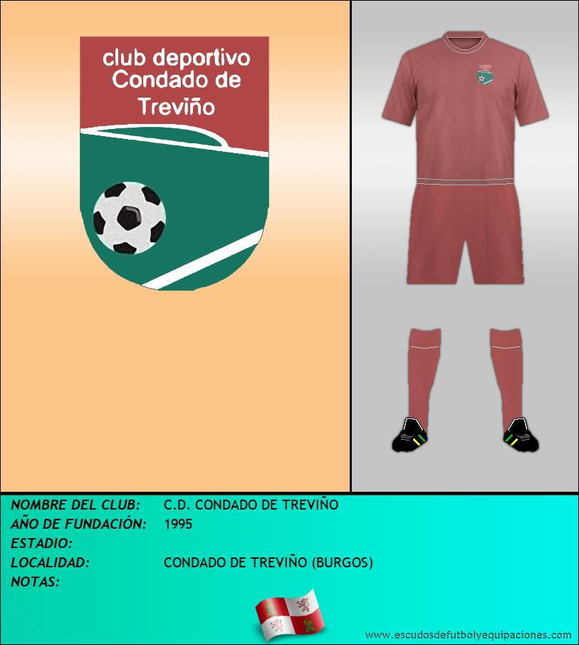 Escudo de C.D. CONDADO DE TREVIÑO