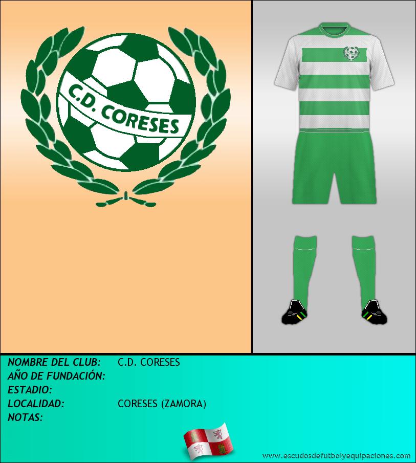 Escudo de C.D. CORESES