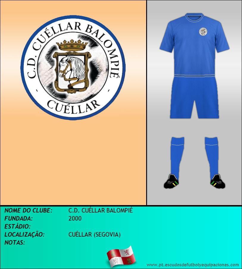 Escudo de C.D. CUÉLLAR BALOMPIÉ