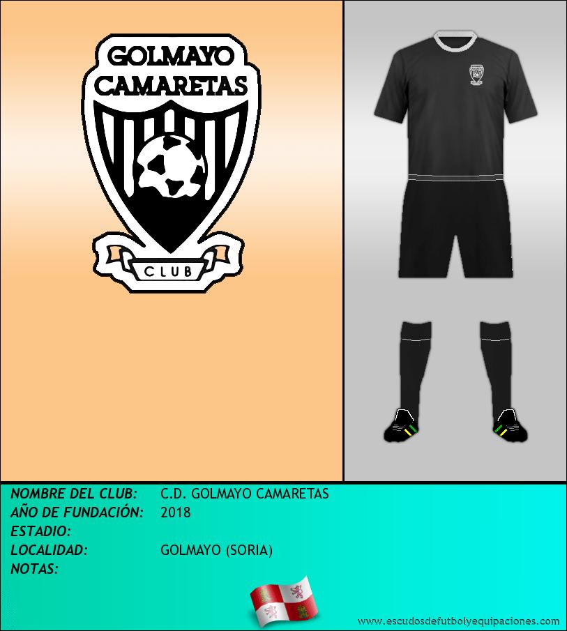 Escudo de C.D. GOLMAYO CAMARETAS