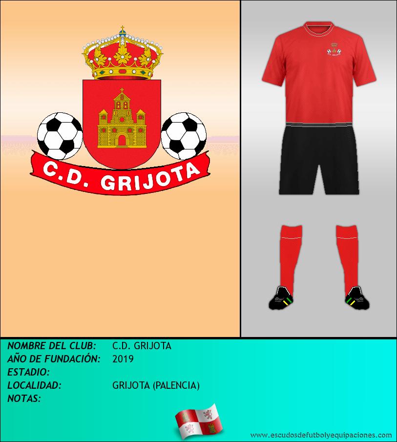 Escudo de C.D. GRIJOTA