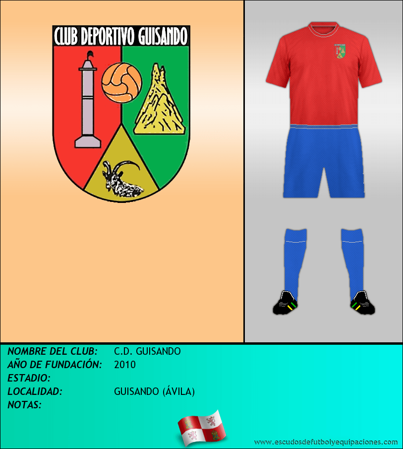 Escudo de C.D. GUISANDO