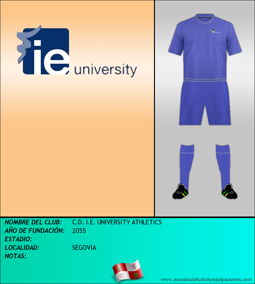 Escudo de C.D. I.E. UNIVERSITY ATHLETICS