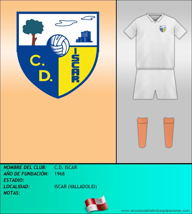 Escudo de C.D. ISCAR