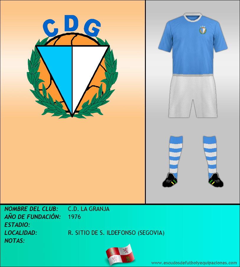 Escudo de C.D. LA GRANJA