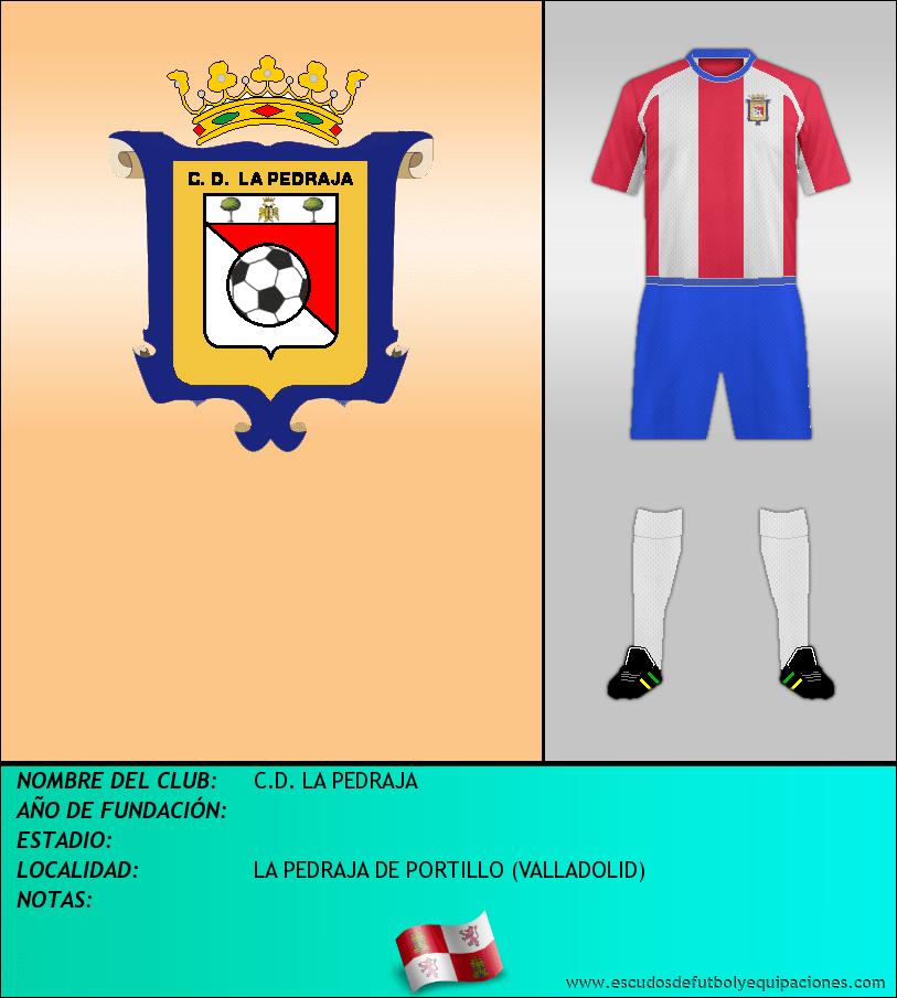 Escudo de C.D. LA PEDRAJA