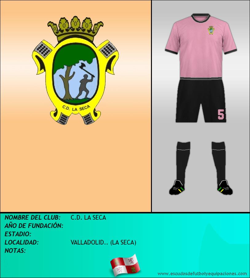 Escudo de C.D. LA SECA