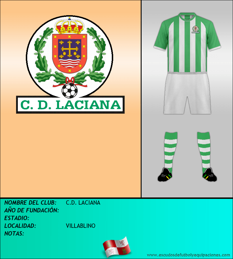 Escudo de C.D. LACIANA