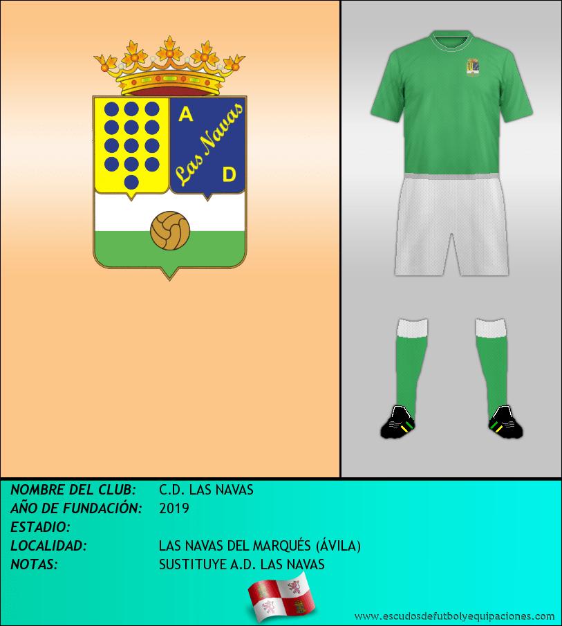 Escudo de C.D. LAS NAVAS