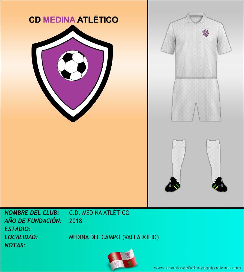 Escudo de C.D. MEDINA ATLÉTICO