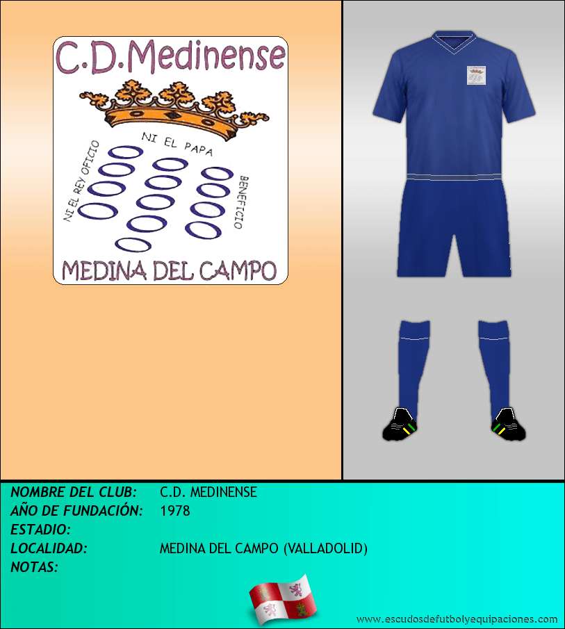 Escudo de C.D. MEDINENSE