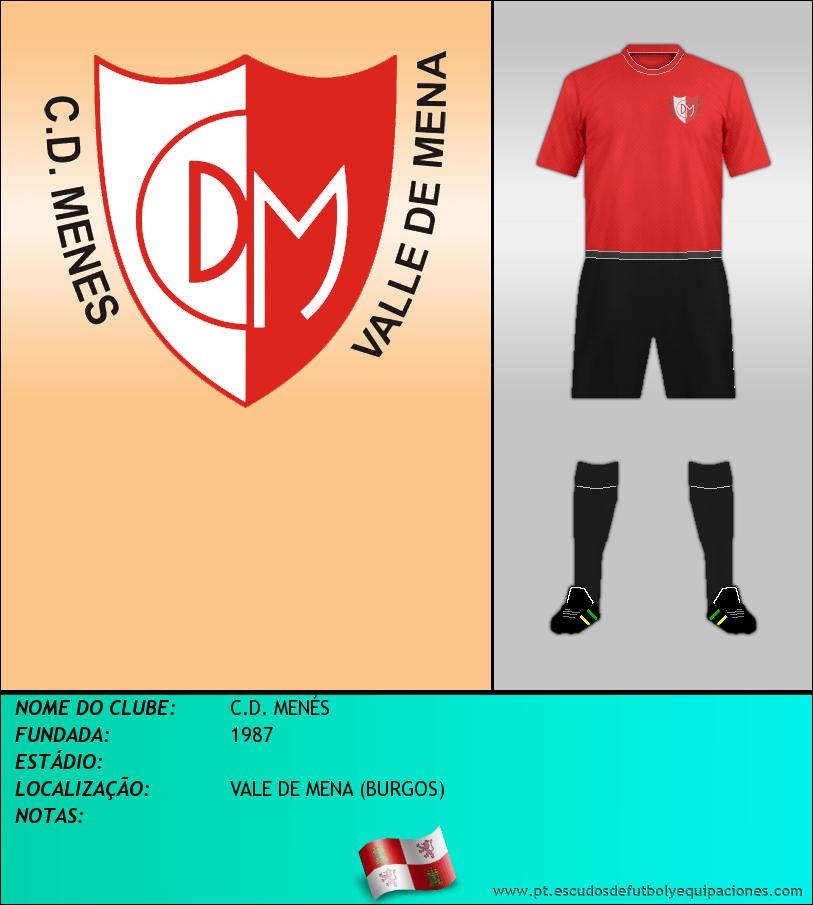 Escudo de C.D. MENÉS