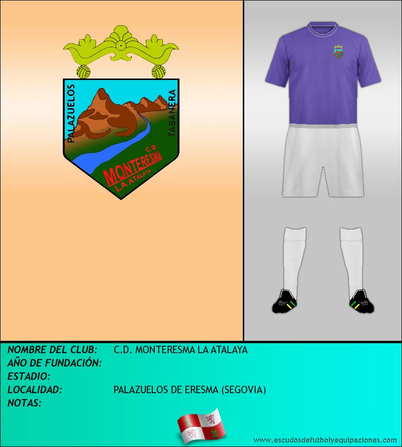 Escudo de C.D. MONTERESMA LA ATALAYA