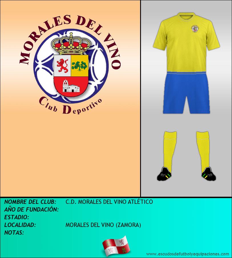 Escudo de C.D. MORALES DEL VINO ATLÉTICO
