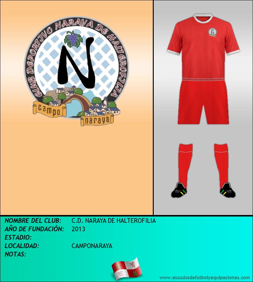 Escudo de C.D. NARAYA DE HALTEROFILIA