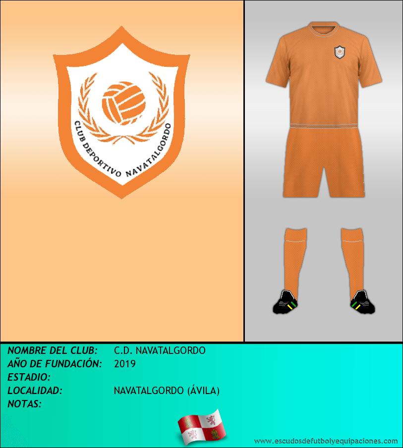 Escudo de C.D. NAVATALGORDO