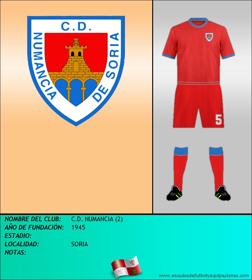 Escudo de C.D. NUMANCIA (2)