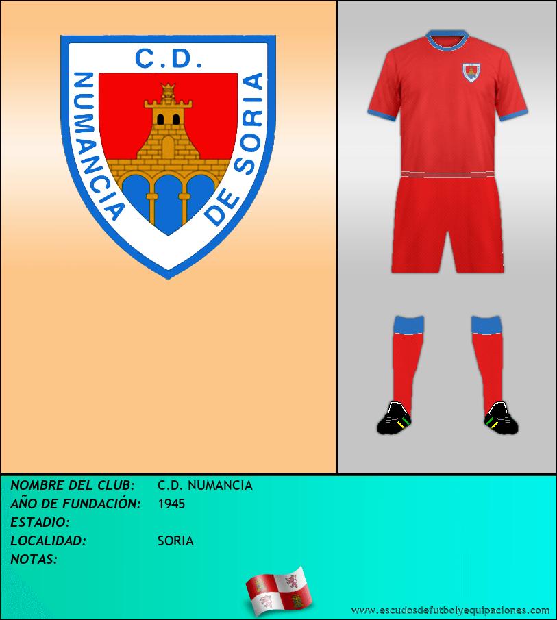 Escudo de C.D. NUMANCIA