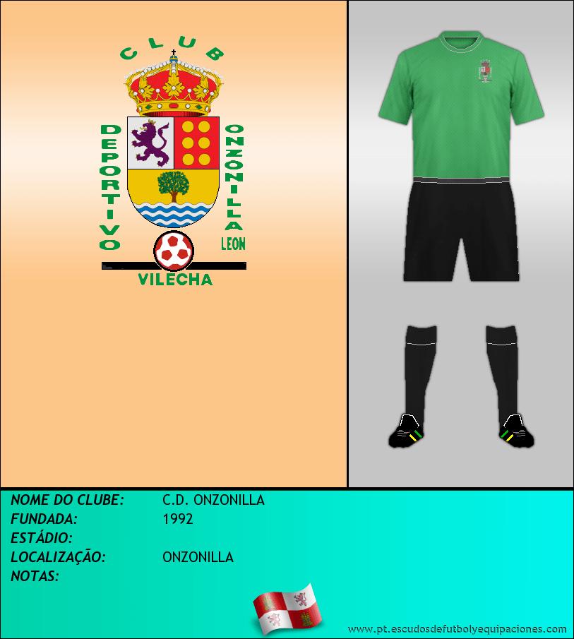 Escudo de C.D. ONZONILLA