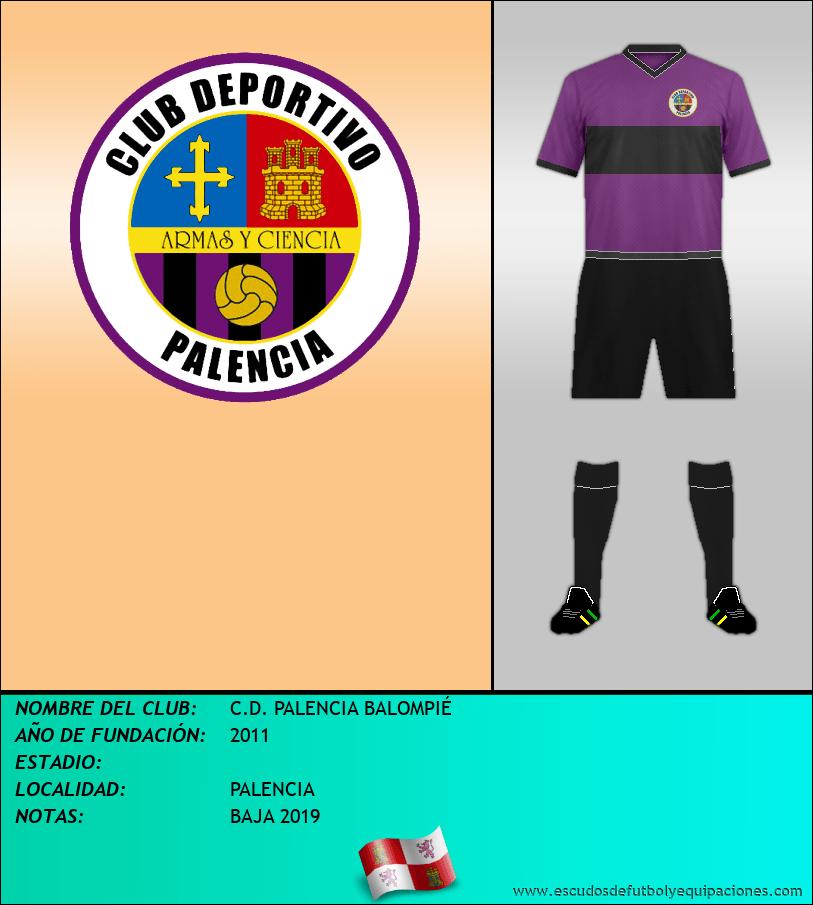 Escudo de C.D. PALENCIA BALOMPIÉ