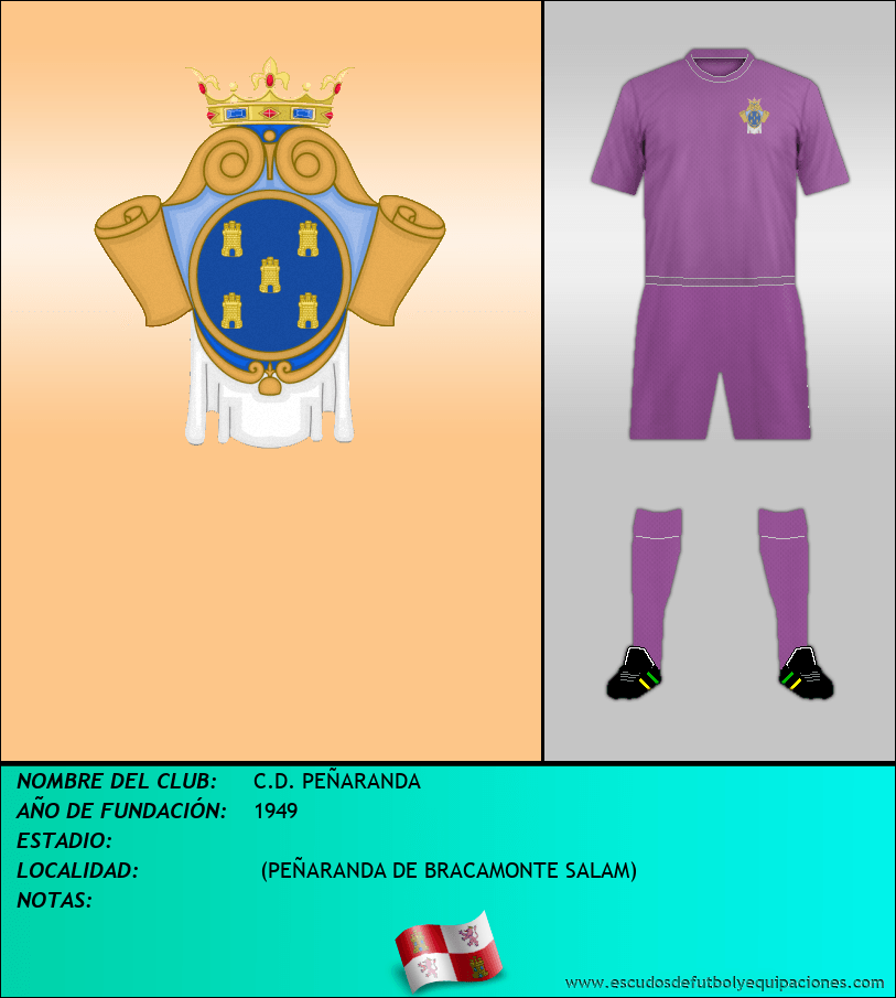 Escudo de C.D. PEÑARANDA