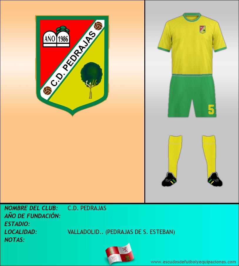 Escudo de C.D. PEDRAJAS