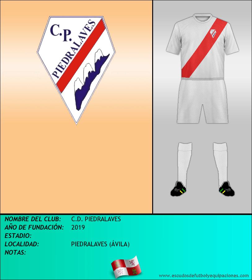 Escudo de C.D. PIEDRALAVES