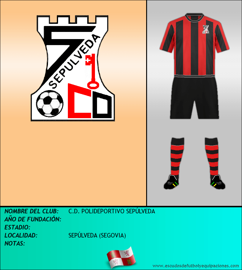 Escudo de C.D. POLIDEPORTIVO SEPÚLVEDA