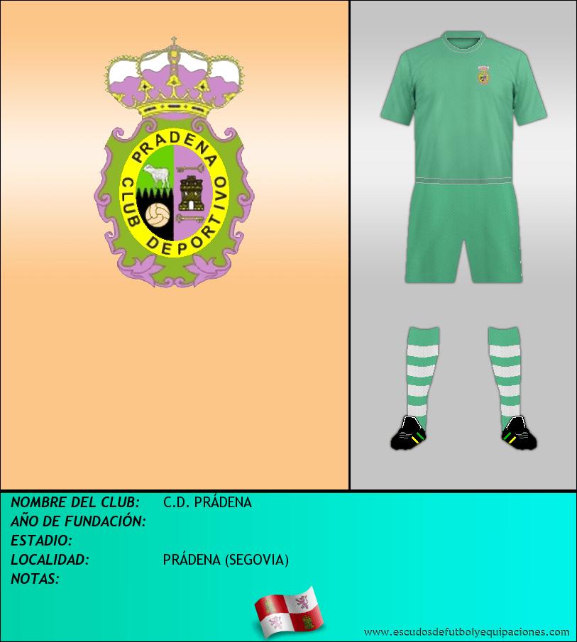 Escudo de C.D. PRÁDENA