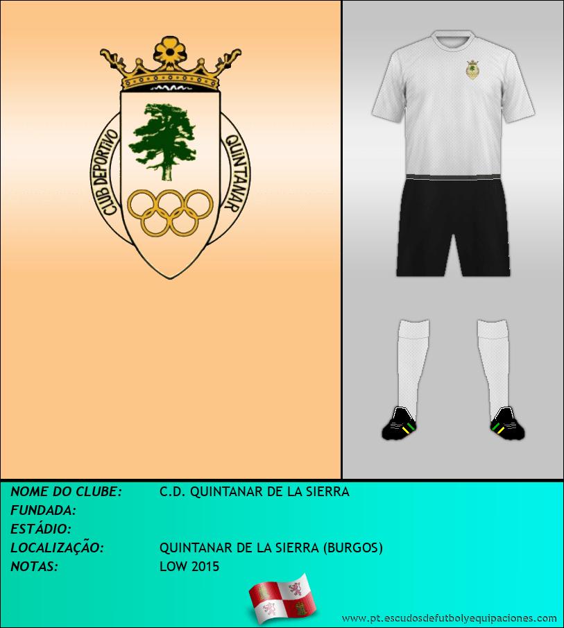 Escudo de C.D. QUINTANAR DE LA SIERRA