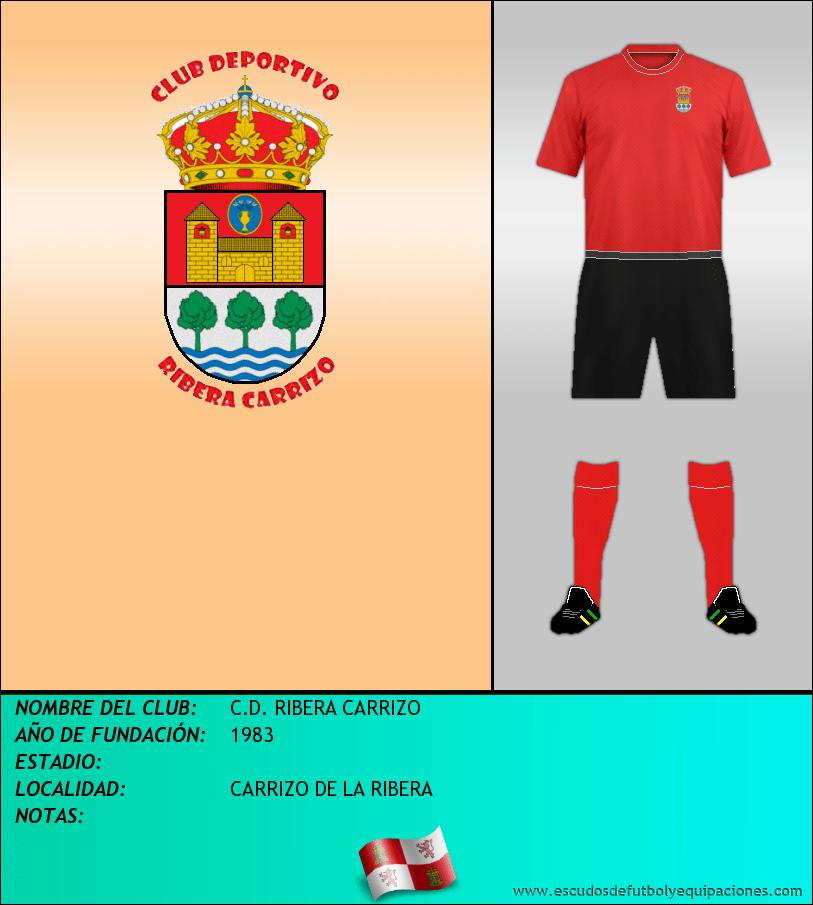 Escudo de C.D. RIBERA CARRIZO