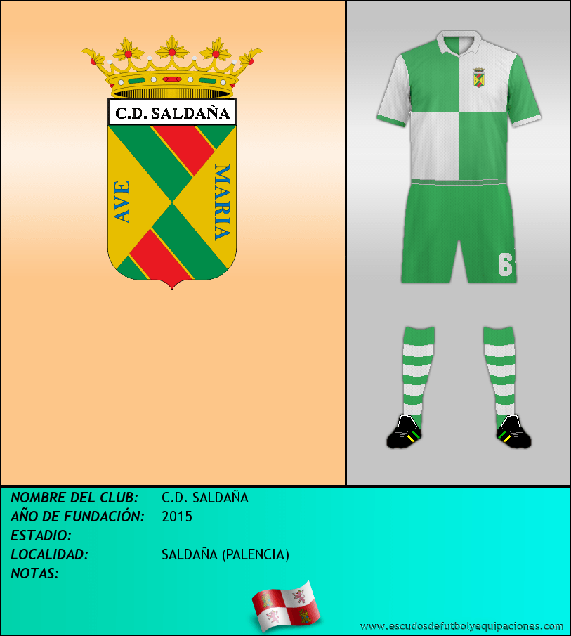 Escudo de C.D. SALDAÑA