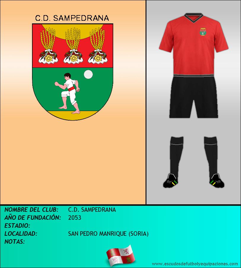 Escudo de C.D. SAMPEDRANA