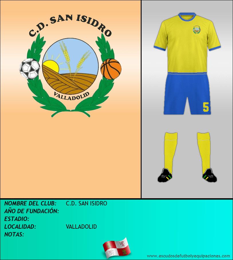 Escudo de C.D. SAN ISIDRO