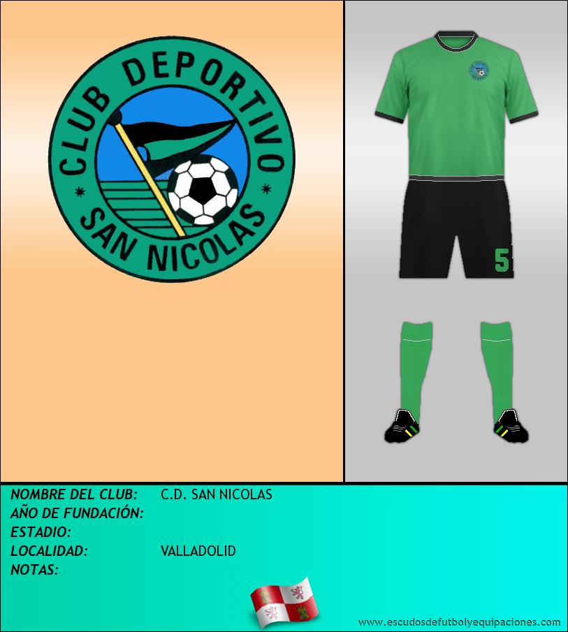 Escudo de C.D. SAN NICOLAS