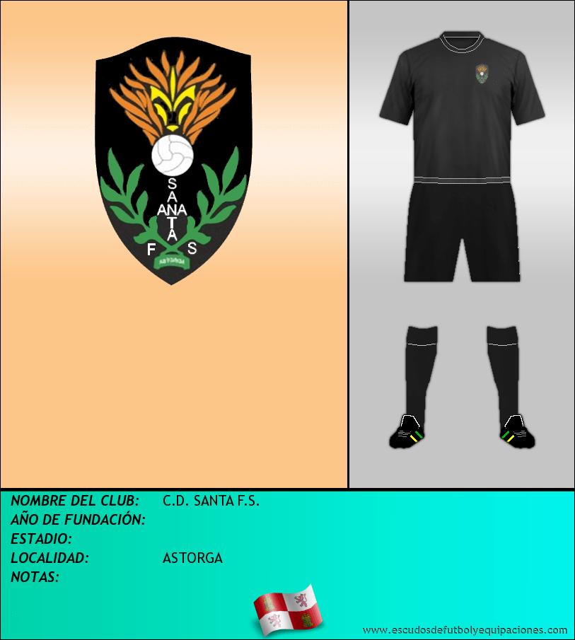 Escudo de C.D. SANTA F.S.