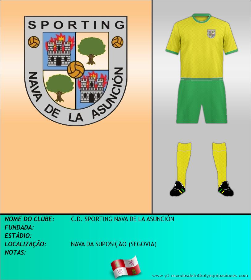 Escudo de C.D. SPORTING NAVA DE LA ASUNCIÓN