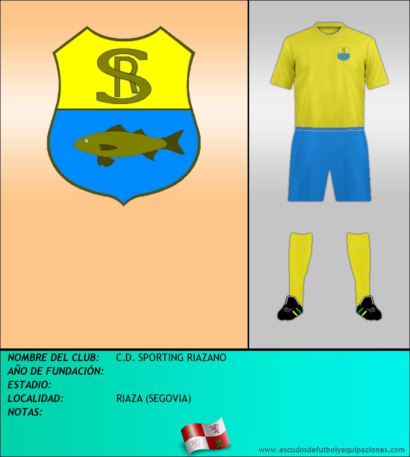 Escudo de C.D. SPORTING RIAZANO