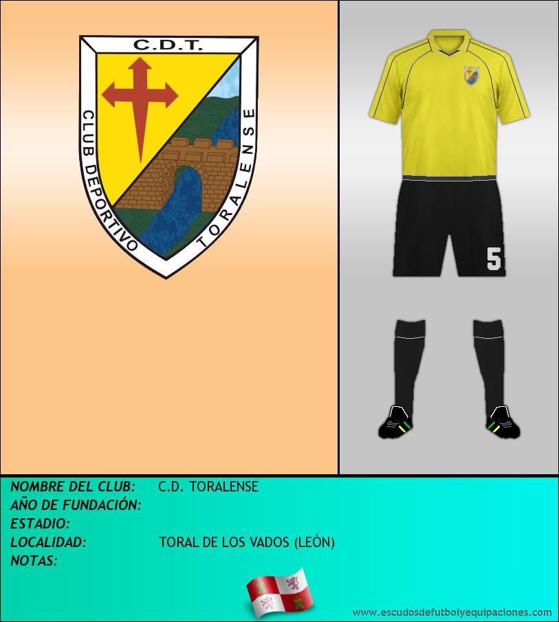 Escudo de C.D. TORALENSE