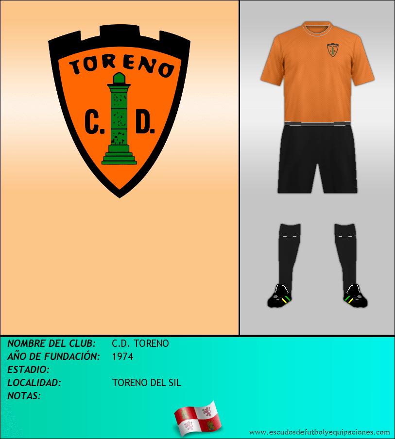 Escudo de C.D. TORENO